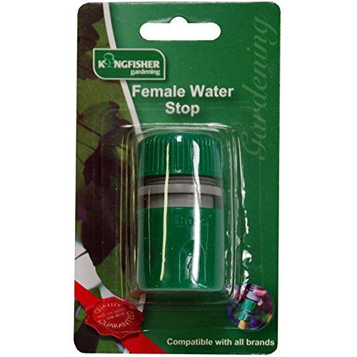 2x Snap Action weiblich Wasser Stop (Gi-lätzchen)