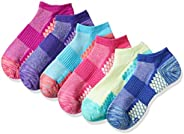 Hanes Women's PC4016 Performance Cool No Show Design Athletic Socks (Pack of 6), Size