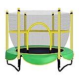 Übungs-Trampolin Gartentrampoline Indoor Kinderunterhaltung Trampolin Heim Mini Trampolin Kinder mit Schutznetz Outdoor Spielzeug springen Bett
