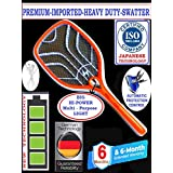 AKSHARA-Imported-Heavy-Duty Mosquito-SWATTER/Racket/Zapper/BAT (Special Light & Switch)