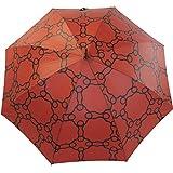 M&P Damen Regenschirm Long stabil Automatik Geometrico - terra