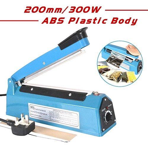 Reelva Impulse Heat Sealer PE PP Bag Shrink Wrap Handheld Impulse Sealer Machine by Reelva (Impuls-handheld)