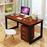 Computer Desk,47'' Sturdy Office Desk Study Writing Desk,Modern Simple Style PC Workstation Table