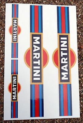martini-stile-moto-motocicletta-forcella-decalcomanie-adesivi
