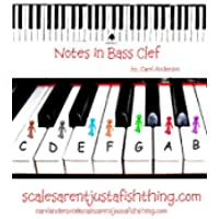 Bass Clef Piano or Cello Note Locator (Sight-reading Music) (English Edition) - Piano Clef Note