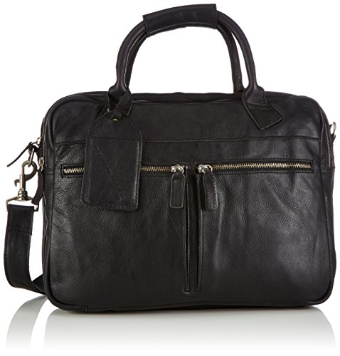 Cowboysbag Bag Cromer, Sacs portés main Mixte adulte Noir (black 100)