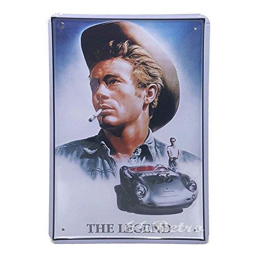66retro-james-dean-the-legend-vintage-retro-metal-tin-sign-wall-decorative-sign-20cm-x-30cm