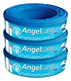Angelcare Nappy Disposal System Refill Cassettes - Pack of 3 Bild