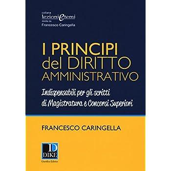 I Principi Del Diritto Amministrativo. Indispensabili Per Gli Scritti Di Magistratura E Concorsi Superiori