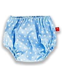 La Fraise Rouge 4251005604946 Windelhöschen Pascal, tamaño 74-86, Vichy Karo, azul claro / blanco