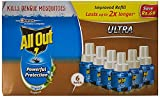 #6: All Out Ultra Refill Saver (270ml, Pack of 6)