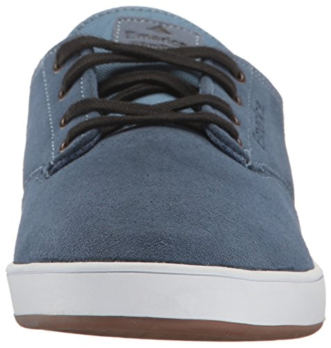 Emerica Laced By Leo Romero-M, Baskets mode homme Bleu (Blue White Gum 444)