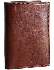 Cadwell - Portefeuille Homme 100% Cuir de Vachette