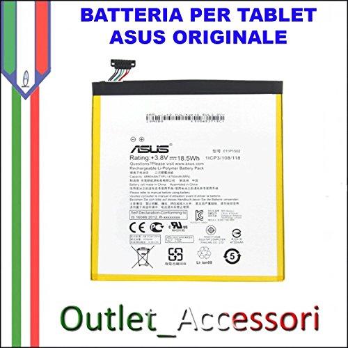 batteria tablet asus Batteria Pila Interna Originale TABLET Asus C11P1502 ZENPAD ZEN PAD 10 P023 Z300 Z300CL Z300C Corriere Ricambio