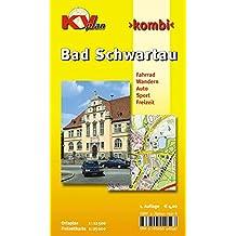 Bad Schwartau: 1:12.500 Stadtplan mit Freizeitkarte 1:25.000 inkl. Radrouten und Wanderwegen (KVplan-Kombi-Reihe / http://www.kv-plan.de/reihen.html)