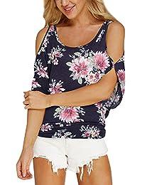 Mujer blusa,Sonnena ❤️ ❤️ Patrón de Símbolos geométricos sin manga blusa para mujer y chica joven Suelto casual traje de verano fresco para citas Actividades al aire libre