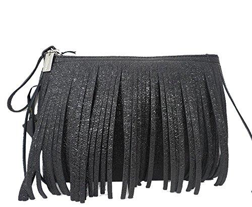 Pochette borsa donna nera 5952 GIANNI CHIARINI primavera/estate 2017