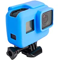GADGETS WRAP Protective Silicone Case Cover for GoPro Action Camera Hero 5 Hero 6 - Blue