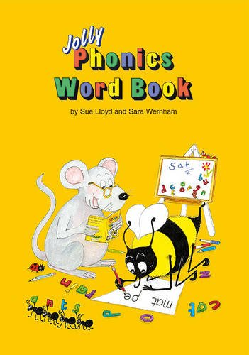 Jolly Phonics Word Book: in Precursive Letters (British English edition)