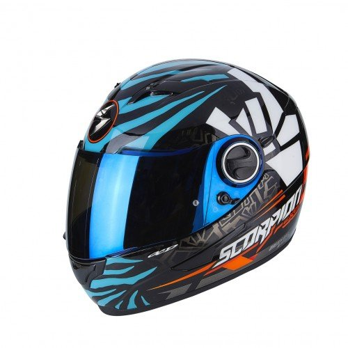 SCORPION Casco Moto exo-490.Rok, multicolor, talla M