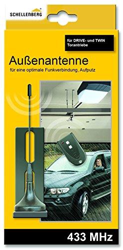 Schellenberg 60014 - Antena exterior para accionamiento de puertas