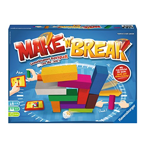 Ravensburger 26750 Make 'n' Break Familienspiel -