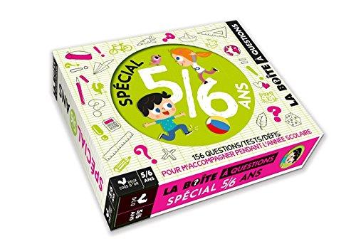 Spécial 5/6 ans - boîte avec cartes et livre par Véronique Schwab