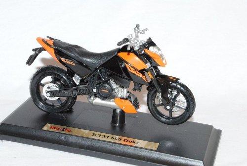 Maisto K-T-M 690 3 III Duke Orange Schwarz Mit Sockel 1/18 Modellmotorrad Modell Motorrad