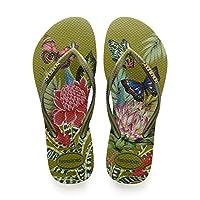 Havaianas Flip Flops Women Slim Tropical