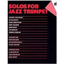 All That Jazz: Solos For Jazz Trumpet. Partituras para Trompeta