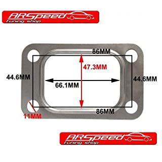 ARSpeed Dichtung Turbolader T3 T34 T35 T38 GT35 GT35R VR6 Turbo T3 Flange