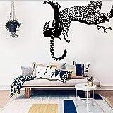 Animal Wild Zoo Leopards Ghepardi Coda Adesiva Adesivo Murale Adesivi Murali In Vinile Per La Camera Dei Bambini Home Decor