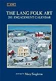 2011 Lang Folk Art - Eng Calendar