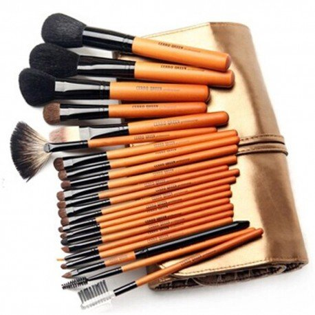 Kit 22 pinceaux maquillage professionnel Cerro Qreen - Passionista