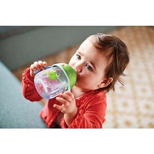 Philips Avent Trinklernbecher, beißfester Trinkschnabel, SCF753/09, ab 12.Monat, grün, 260ml - 4