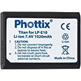 PHOTTIX batterie photo LP-E10