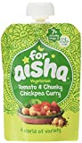 For Aisha Vegetarian Tomato and Chunky Chickpea Curry, 130 g, Pack of 6