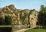 Berkin Arts Gustave Courbet Giclée Leinwand Prints