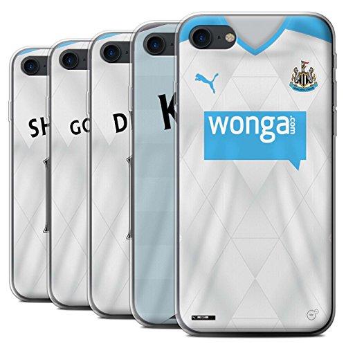 Officiel Newcastle United FC Coque / Etui Gel TPU pour Apple iPhone 7 / Mitrovic Design / NUFC Maillot Extérieur 15/16 Collection Pack 29pcs