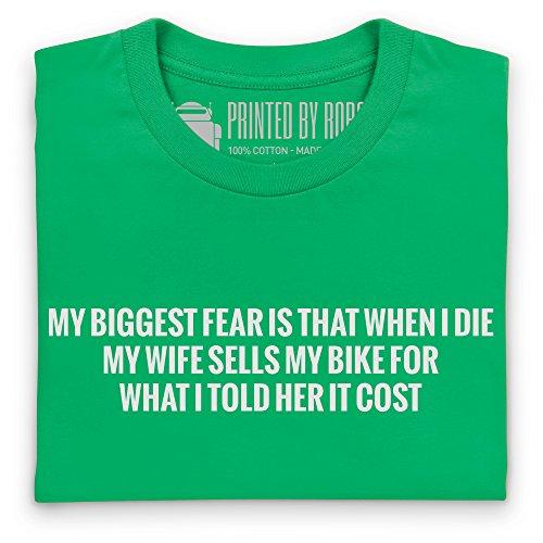 My Biggest Fear T-Shirt, Damen Keltisch-Grn