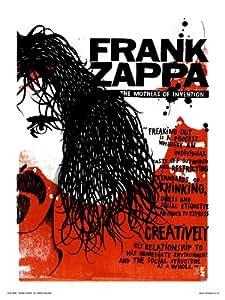 Frank Zappa Poster Art Print by Simon Walker (OTW041)