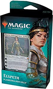 Magic The Gathering Theros Beyond Death Elspeth, Undaunted Hero Planeswalker Deck (Wizards of The Coast C74030001)