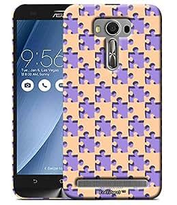 ECellStreet Hard Printed Back Case Designer Back Cover for Asus Zenfone Selfie ZD551KL
