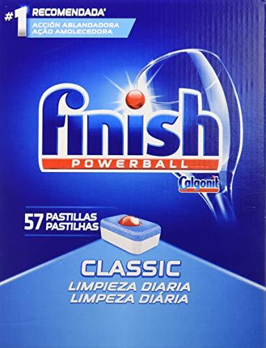 Finish Classic Geschirrspüler-Tabs Regular 57 pastillas, 5er Pack