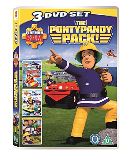 Image of Fireman Sam: Pontypandy Pack (Ocean Rescue/On Thin Ice/Norman on the Loose) [DVD]