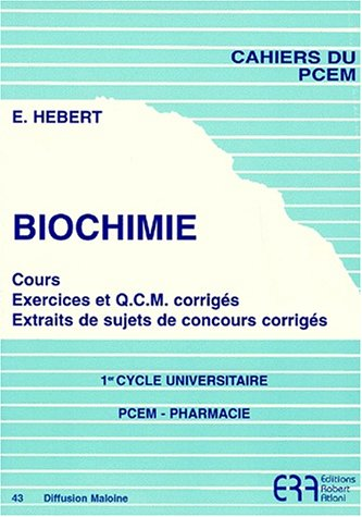 Biochimie par E. Hebert