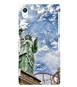 Ebby Premium Printed Mobile Back Case Cover With Full protection For Sony Xperia T2 Ultra (Designer Case)
