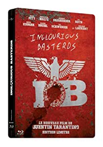 Inglourious Basterds [Blu-ray] [Édition boîtier SteelBook]