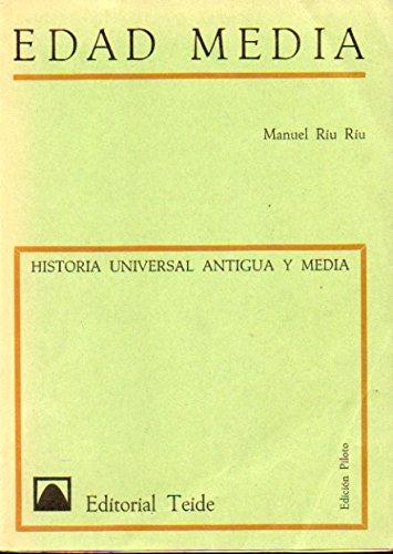 HISTORIA UNIVERSAL ANTIGUA Y MEDIA. FASCÍCULO III. Edición Piloto.LECCIONES DE HISTORIA MEDIEVAL. 3ª ed.