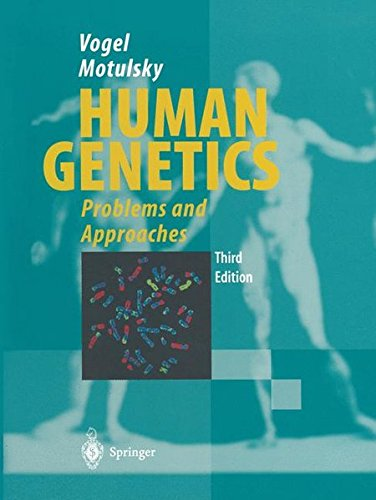 HUMAN GENETICS - PROBLEMS AND APPROACHES - THIRD EDITION par Friedrich Vogel